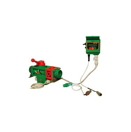 Flödesmätare för fyllning med automatiskt stopp