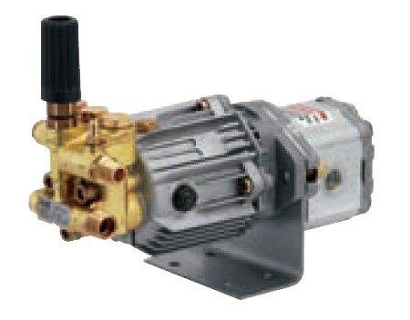 Högtryckspump med hydraulmotor, 11 l/min, 140 bar
