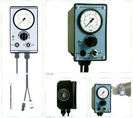 KONTROLLP. FÖR 12V/15Amp PUMP MANOMETER 6 BAR ON/OFF RPM