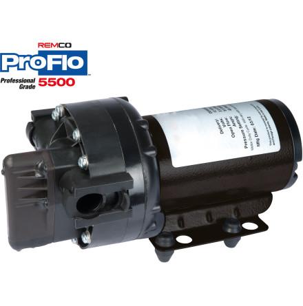 MEMBRANPUMP REMCO PROFLO 5500 19 L/MIN 4 BAR 12 V MED BYPASS