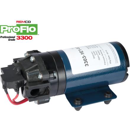 MEMBRANPUMP REMCO PROFLO 3300 7,2 L/MIN 4 BAR 12 V MED BY PASS
