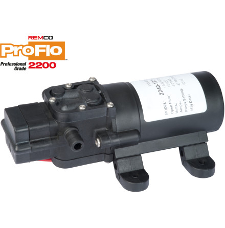 MEMBRANPUMP REMCO PROFLO 2200 3,8 L/MIN 2,8 BAR 12 V MED TRYCKVAKT