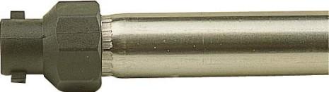 Snabbkopplingsadapter och bajonetthuv