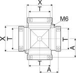 4-VÄGSKOPPL. 90GR F=T7