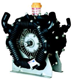Kolvmembranpump 6-cyl, 300 l/min